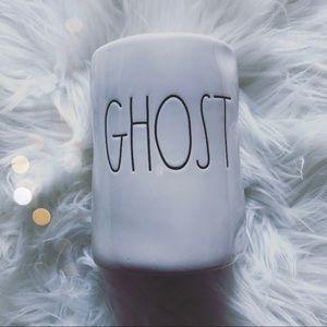 Rae Dunn GHOST Scented Candle Patchouli Amber
